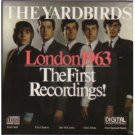 yardbirds - london 1963 the first recordings! CD 1981 optimism used mint