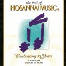 best of hosanna! music - celebrating 10 years CD 2-disc set 1995 integrity used