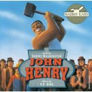 john henry told by denzel washington - music by b b king CD 1993 rabbit ears used