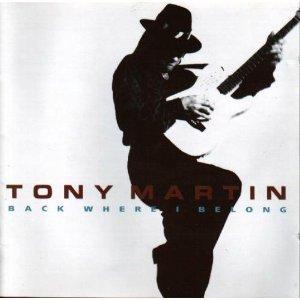 tony martin - back where i belong CD 1992 polydor germany used mint