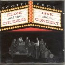 eddie and the cruisers - live and in concert CD 1992 scotti bros used mint