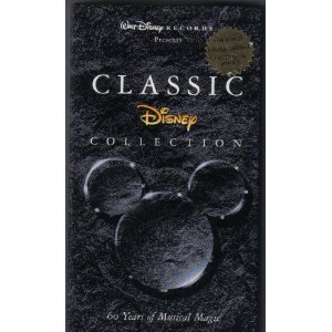 classic disney collection - 60 years of musical magic CD 4-disc boxset 1995 disney used mint