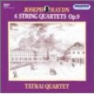 haydn 6 string quartets op.9 - tatrai quartet CD 2-disc box 1991 hungaroton used mint