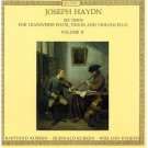 haydn six trios for transverse flute violin and violoncello vol II - kuijken CD accent