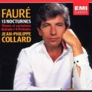 faure 13 nocturnes - jean-philippe collard CD 2-disc box EMI germany used mint