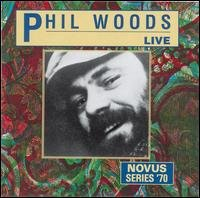 phil woods - live CD 1991 RCA novus used mint