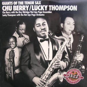 chu berry & lucky thompson - giants of tenor sax CD 1988 commodore used mint