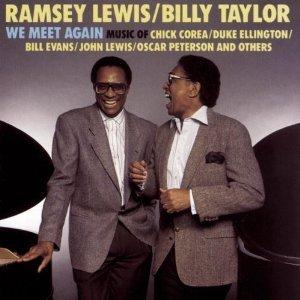 ramsey lewis & billy taylor - we meet again CD 1989 CBS sony used mint