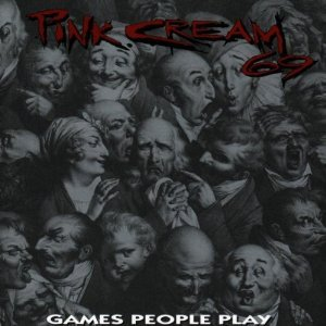 pink cream 69 - games people play CD 1993 epic sony 14 tracks used mint