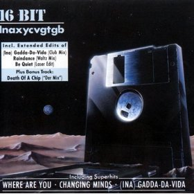 16 bit - Inaxycvgtgb CD 1987 BMG ariola commodore made in germany used mint