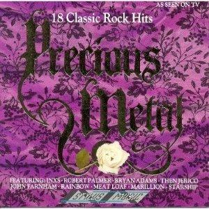 precious metal - 18 classic rock hits CD 1989 stylus music used mint