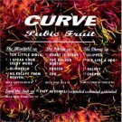 curve - pubic fruit CD 1992 anxious charisma 13 tracks used mint