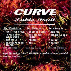 curve - pubic fruit CD 1992 anxious charisma 13 tracks used mint