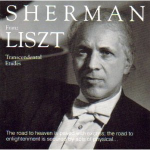 russell sherman - franz liszt - transcendental etudes CD 1990 albany used mint