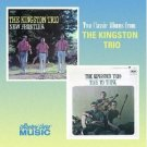 kingston trio - new frontier and time to think CD 1999 EMI capitol collectors choice used mint