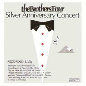brothers four - silver anniversary concert CD 1987 american licensing used mint