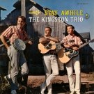 kingston trio - stay awhile CD 1993 folk era MCA used mint
