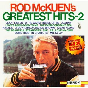 rod mckuen - greatest hits 2 CD 1996 delta stanyan BMG direct used mint