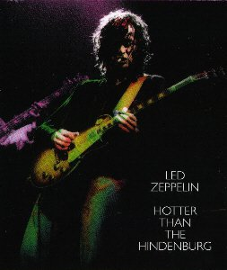 led zeppelin - hotter than hindenburg CD 2-discs last stand disc used mint