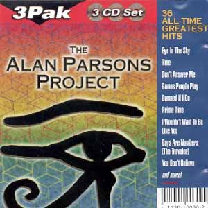 alan parsons project - 36 all time greatest hits CD 3-discs 1999 BMG GSC used mint