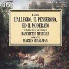 handel l'allegro il penseroso ed il moderato - banchetto musicale & pearlman 2CD 1986 arabesque