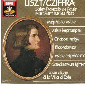 liszt mephisto valse - cziffra CD 1986 EMI france used mint