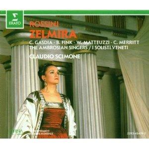 rossini - zelmira - claudio scimone CD 1990 erato used mint