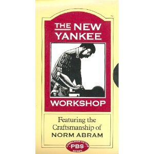 new yankee workshop featuring norm abram - playhouse 1 & 2 VHS 1997 WGBH used