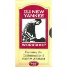 new yankee workshop featuring norm abram - library table VHS 1993 WGBH used
