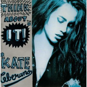 kate ceberano - think about it! CD 1991 regular records australia used mint