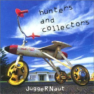 hunters and collectors - juggernaut CD 1998 white human frailty used mint