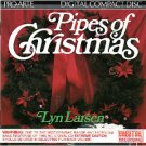 lyn larsen - pipes of christmas - paramount organ CD 1986 proarte intersound used mint