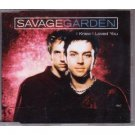 savage garden - i knew i loved you CD single 1999 sony 3 tracks used mint
