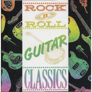 rock n roll guitar classics - various artists CD 1990 k-tel era 11 tracks used mint