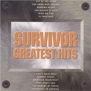 survivor - greatest hits CD 1993 scotti bros used mint
