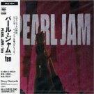 pearl jam - ten CD 1991 sony japan used