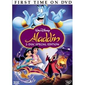aladdin - 2-disc special platinum edition DVD disney 90 minutes used mint