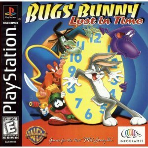 playstation - bugs bunny lost in time 1999 infogrames NTSC U/C Everyone used