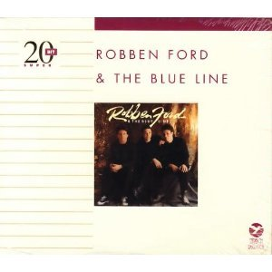 robben ford & the blue line - 20-bit super gold CD 1994 grp used mint
