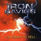 iron savior - i've been to hell CD 2000 noise import used mint