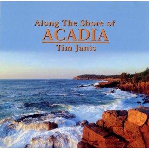 tim janis - along the shore of acadia CD 2000 tim janis ensemble used mint