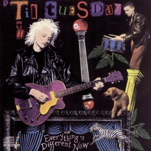 til tuesday - everything's different now CD 1988 sony cbs used mint