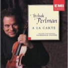 Itzhak Perlman - A la carte - Lawrence Foster + abbey road ensemble CD 1995 EMI used mint