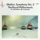 sibelius symphony no.2 - royal philharmonic with sir john barbirolli CD 1987 chesky ardee used mint