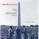 peter paul and mary - songs of conscience and concern CD 1999 warner used mint