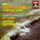 Ibert - Divertissement 1-6 Symphonie Marine Bacchanale Louisville Concerto Bostoniana CD 1987 EMI