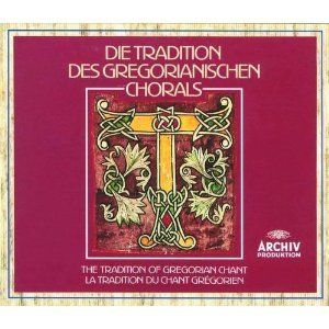 the Tradition of Gregorian Chant CD 4-discs 1992 polygram used mint