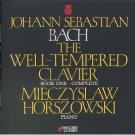 bach well-tempered clavier book one complete - horszowski piano CD 2-discs 1993 vanguard omega mint