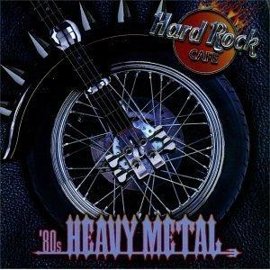 hard rock cafe - '80s heavy metal CD 1998 rhino used mint