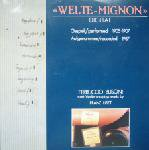welte-mignon - busoni spielt liszt CD 1988 intercord germany 6 tracks used mint